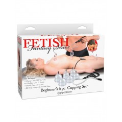 Fetish Fantasy Series  Beginners 6pc. Cupping Set