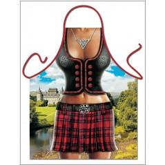 Donna Scozzese - Skót Lány - Kötény
