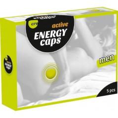 Energy caps men 5 pcs