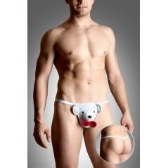 Mens thongs 4492 - white SL