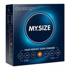 My Size 57 (3 Kondome)