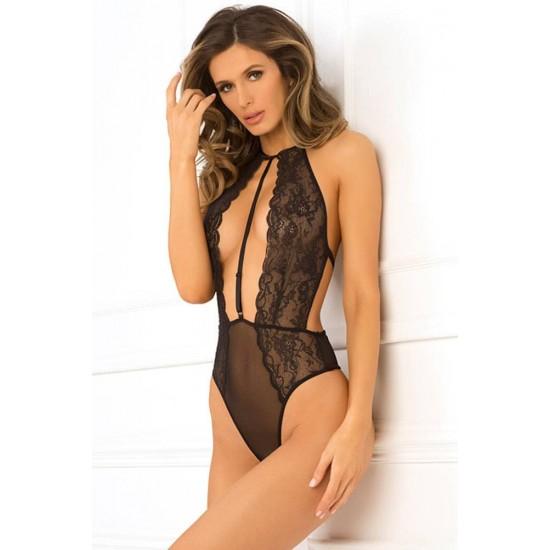 Hot Pursuit Lace Bodysuit S/M