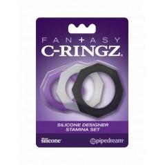 Fantasy C-Ringz Silicone Designer Stamina Set