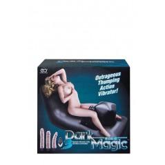 Dark Magic Inflatable Bed Black