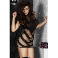 CR 3424  S/M  Black  Minidress
