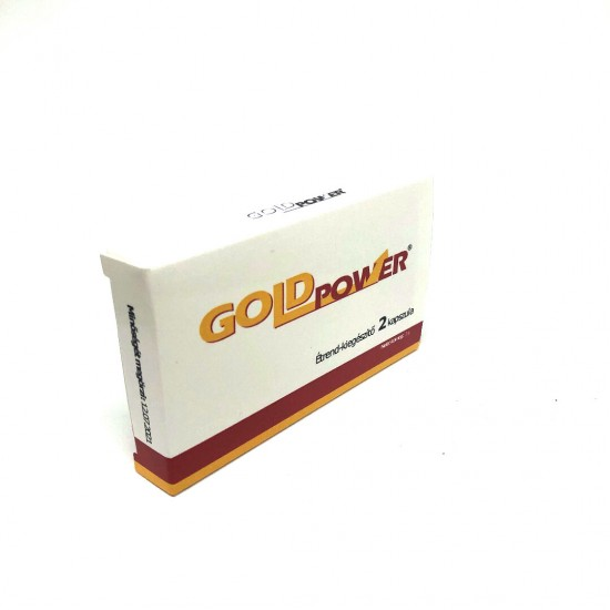 GOLD POWER - potency increaser 2 pcs