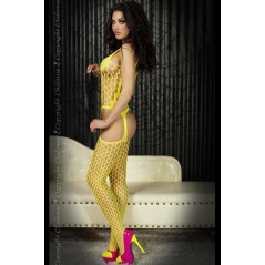CR 3282 S/L Yellow Bodystocking