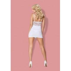 810-CHE-2 chemise & thong white S/M