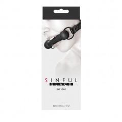 Sinful - Bar Gag - Black