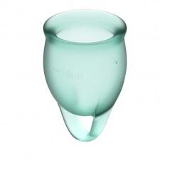 Feel confident Menstrual Cup Dark Green