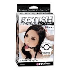 Fetish Fantasy Extreme Silicone O-Ring Gag - Black